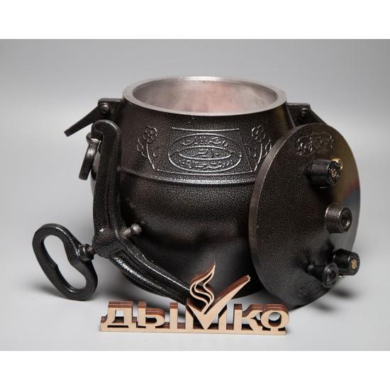 Афганский казан на 12 литров, черный