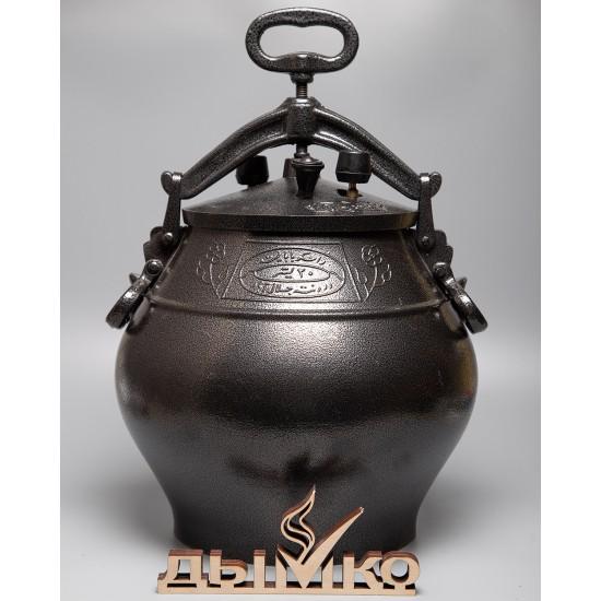 Афганский казан на 20 литров, черный