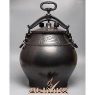 Афганский казан на 30 литров, черный