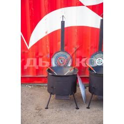 Печь под казан с трубой 16 л