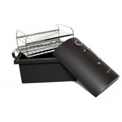 Коптильня с термометром (полукруглая крышка) 450*300*300