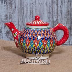 Чайник 1 л. красный Мехроб